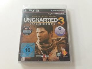 PS3 Uncharted 3 Drake's Deception Game of the Year Edition