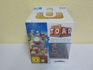 Wii U Captain Toad Treasure Tracker Limited Edition