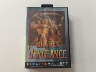 MD Blades of Vengeance