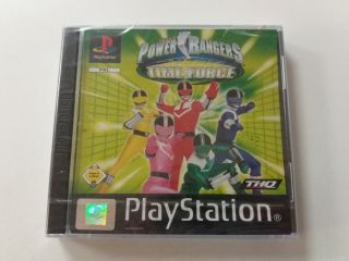 PS1 Power Rangers Time Force