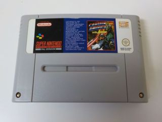 SNES Captain America and The Avengers NOE
