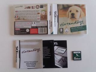 DS Nintendogs Labrador & Friends FHUG