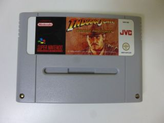 SNES Indiana Jones Greatest Adventures EUR