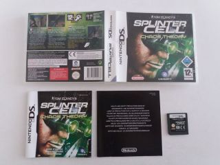 DS Tom Clancy's Splinter Cell Chaos Theory EUU
