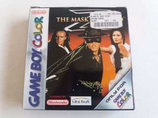 GBC The Mask of Zorro EUU