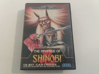 MD The Revenge of Shinobi