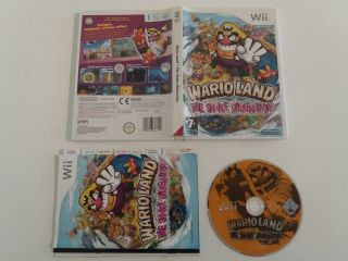 Wii Wario Land The Shake Dimension STA