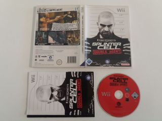 Wii Tom Clancy's Splinter Cell Double Agent NOE