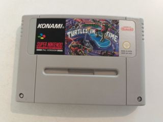 SNES Teenage Mutant Hero Turtles IV Turtles in Time NOE