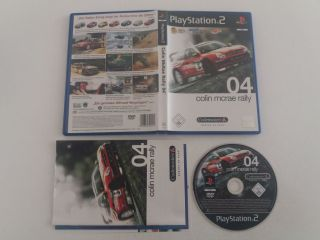 PS2 Colin McRae Rally 04