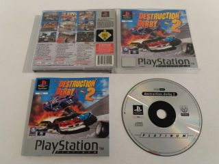 PS1 Destruction Derby 2
