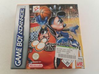 GBA Disney Sports Basketball EUU