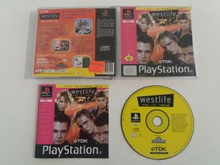 PS1 Westlife Fan - O - Mania