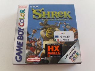 GBC Shrek Fairy Take Freakdown EUR