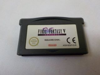 GBA Final Fantasy 5 Advance EUR