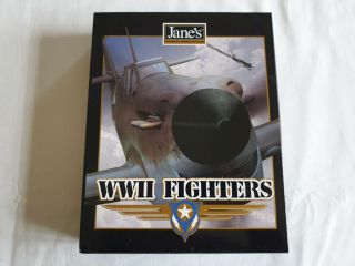 PC Jane's Combat Simulations - WWII Fighters