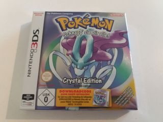 3DS Pokemon Crystal Editon GER