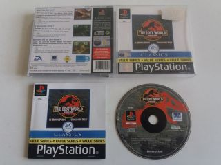 PS1 Jurassic Park The Lost World