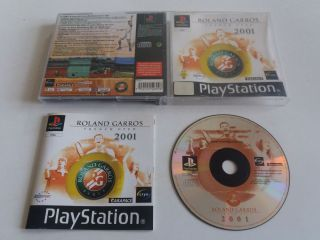 PS1 Roland Garros French Open 2001