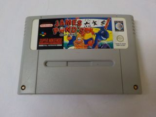 SNES James Pond's Crazy Sports UKV