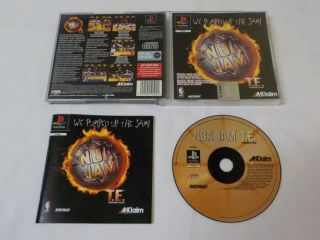 PS1 NBA Jam Tournament Edition