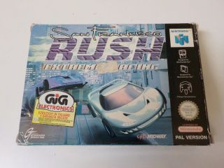 N64 San Francisco Rush ITA