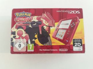 2DS + Pokemon Omega Ruby