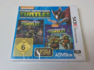 3DS Teenage Mutant Ninja Turtles Master Splinter's Training Pack