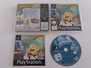 PS1 Spongebob Squarepants Supersponge