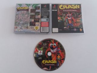 PS1 Crash Bandicoot