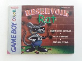 GBC Reservoir Rat EUR Manual