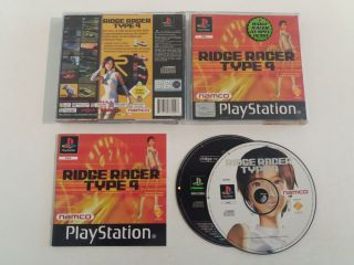 PS1 Ridge Racer Type 4