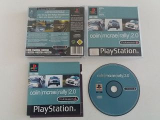 PS1 Colin McRae Rally 2.0