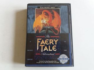 MD The Faery Tale Adventure
