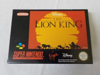 SNES The Lion King HOL
