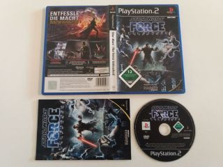 PS2 Star Wars The Force Unleashed