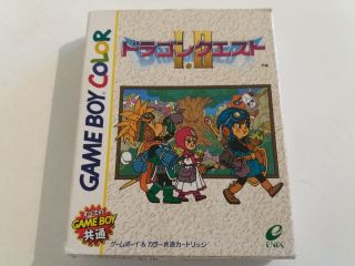 GBC Dragon Quest I.II JPN