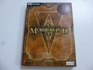 PC The Elder Scrolls 3 Morrowind