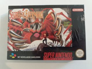 SNES Secret of Evermore HOL