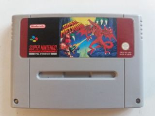 SNES Super Metroid UKV