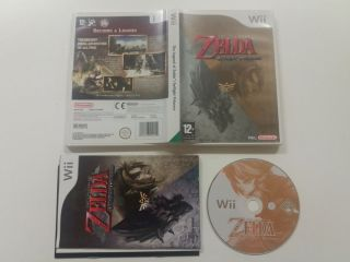 Wii The Legend of Zelda Twilight Princess UKV