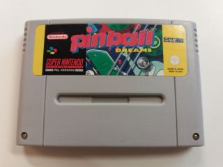 SNES Pinball Dreams UKV
