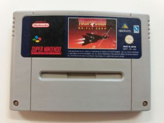 SNES Turn and Burn No Fly Zone UKV