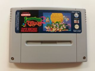 SNES Lemmings 2 The Tribes EUR