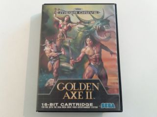 MD Golden Axe II