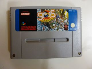 SNES S.O.S. Sink or Swim EUR