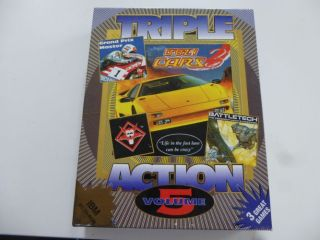 PC Triple Action Volume 5