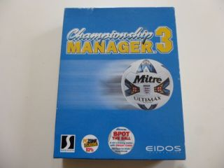 PC Championship Manager 3