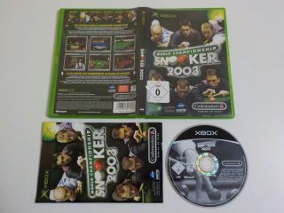 Xbox World Championship Snooker 2003