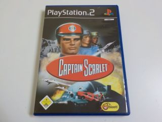 PS2 Captain Scarlet